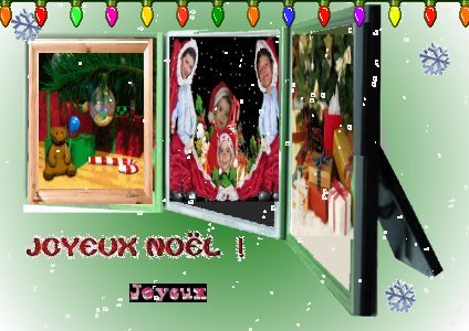 Joyeux Noel à tous ceux que j'aime